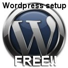 Wordpress as a CMS - free setup